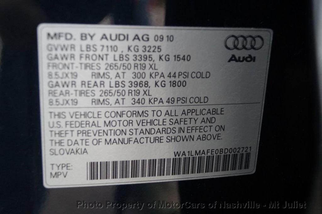 2011 Audi Q7 quattro 4dr 3.0L TDI Premium Plus - 18381997 - 52