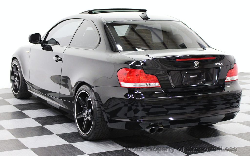 2011 Used BMW 1 Series CERTIFIED 128i 6 SPEED SPORT PACKAGE COUPE