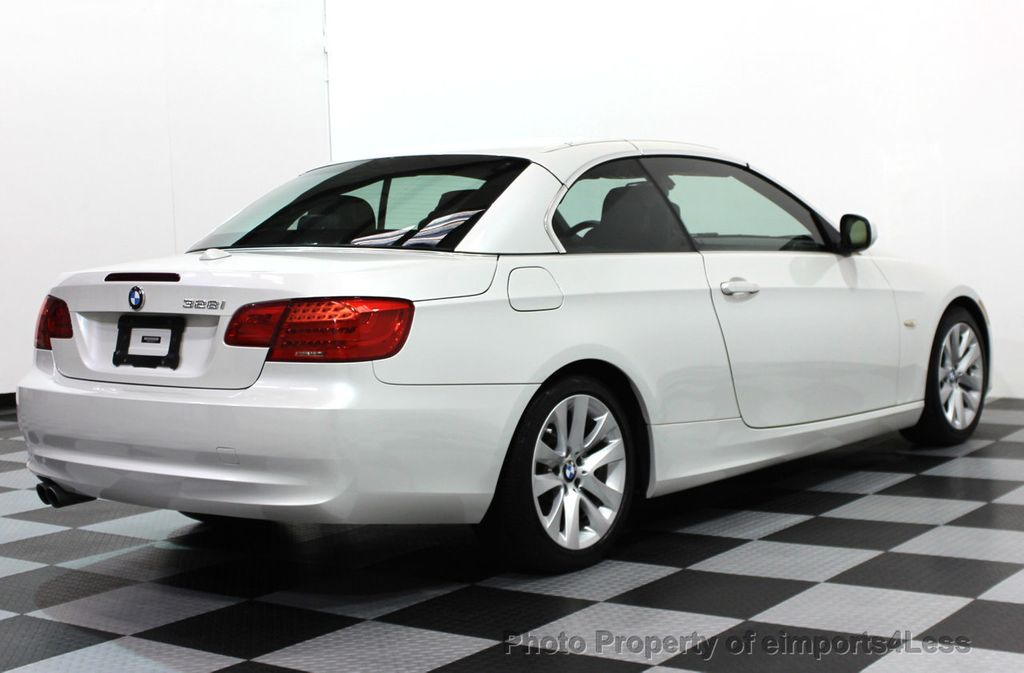 2011 Used Bmw 3 Series Certified 328i Premium Package Convertible At
