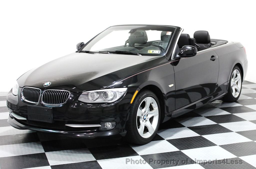 2011 BMW 3 Series CERTIFIED 335i CONVERTIBLE NAVIGATION - 16225297 - 0