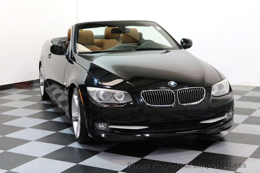 2011 BMW 3 Series CERTIFIED 335i SPORT PACKAGE CABRIOLET - 17025107 - 27