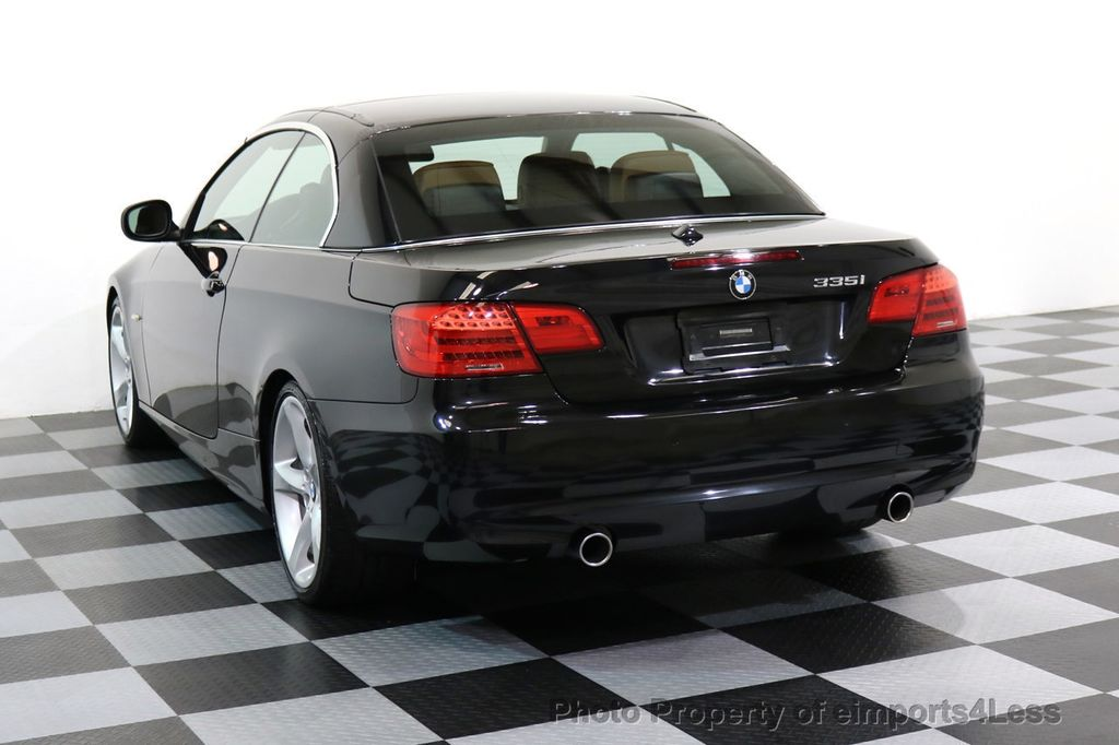 2011 BMW 3 Series CERTIFIED 335i SPORT PACKAGE CABRIOLET - 17025107 - 2