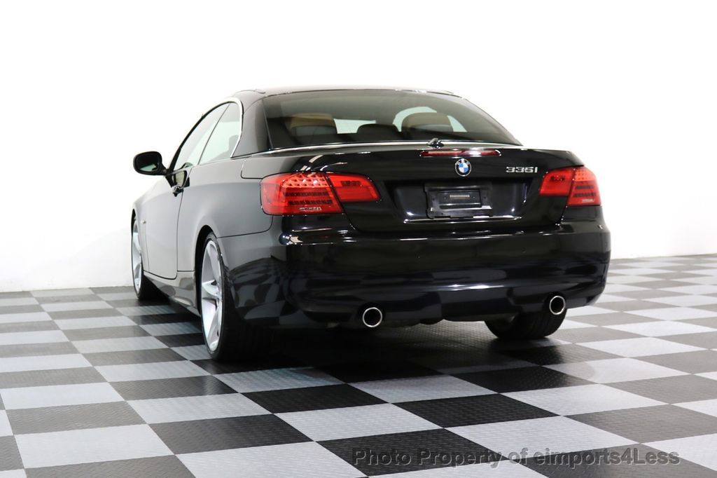 2011 BMW 3 Series CERTIFIED 335i SPORT PACKAGE CABRIOLET - 17025107 - 45