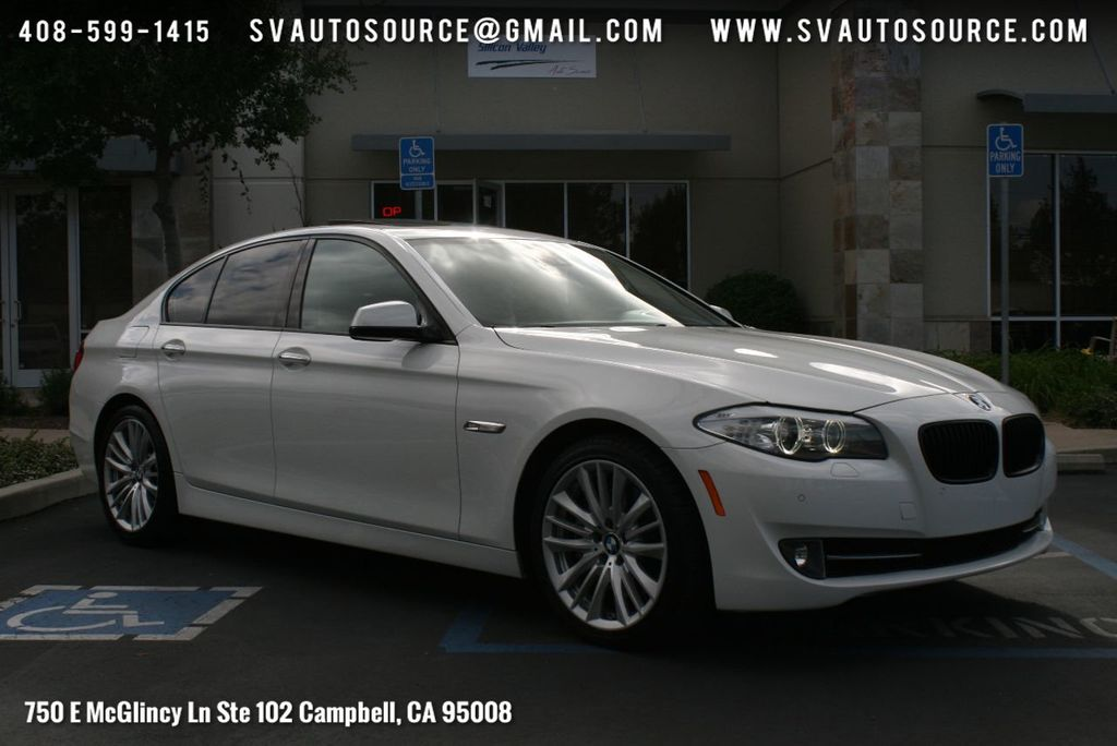 2011 Used Bmw 5 Series 550i At Silicon Valley Auto Source Serving Campbell Ca Iid 17490894