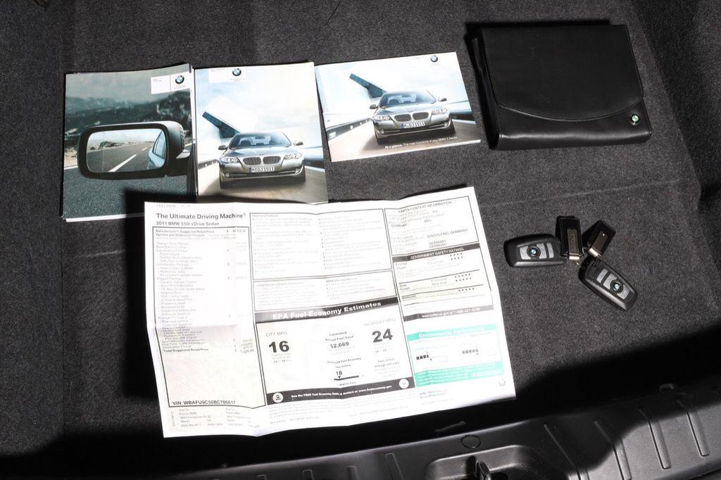 2011 BMW 5 Series 550i xDrive - 18193519 - 65