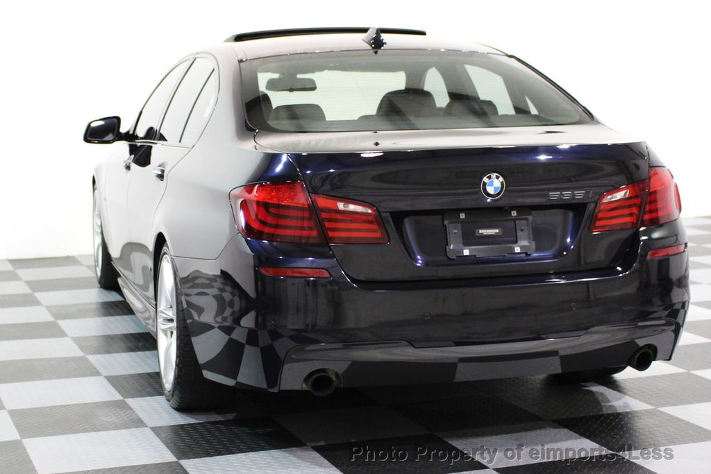 2011 BMW 5 Series CERTIFIED 535i xDRIVE M SPORT NAVIGATION - 16630373 - 48