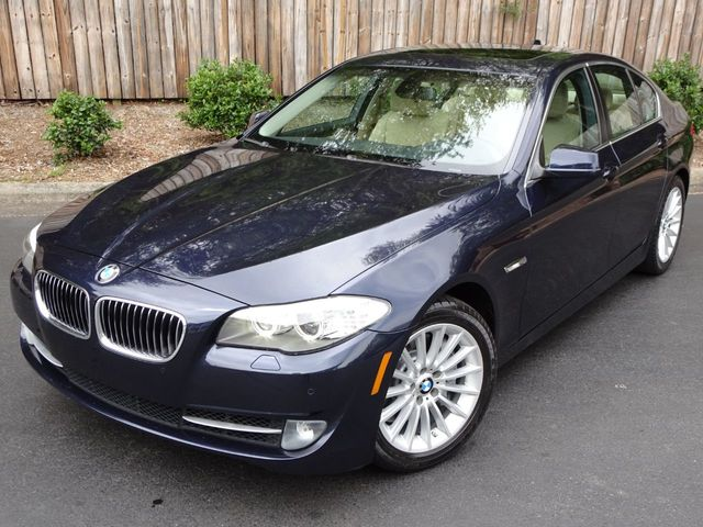 2011 Used BMW 5 Series - PREMIUM PKG - ONE OWNER - MOONROOF - BACKUP CAM at  Michs Foreign Cars Serving Hickory, NC, IID 18750418