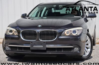 2011 BMW 7 Series 750i with Luxury Seating & Premium Sound Packages Sedan
