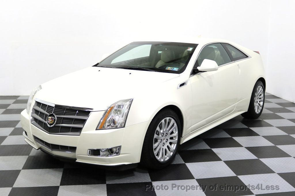 2011 Cadillac CTS Coupe 2dr Coupe Performance AWD - 17736550 - 10