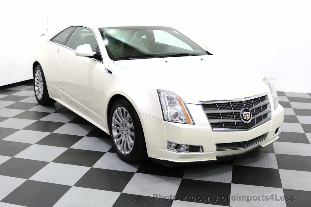 2011 Cadillac CTS Coupe 2dr Coupe Performance AWD - 17736550 - 11