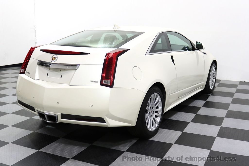 2011 Cadillac CTS Coupe 2dr Coupe Performance AWD - 17736550 - 12