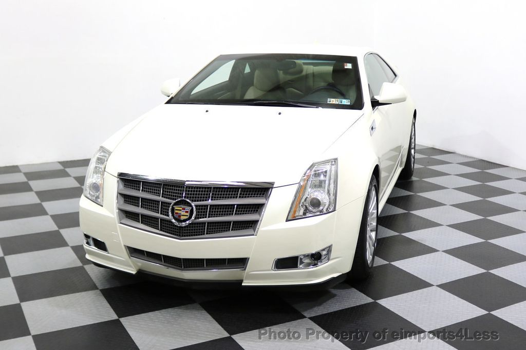 2011 Cadillac CTS Coupe 2dr Coupe Performance AWD - 17736550 - 21