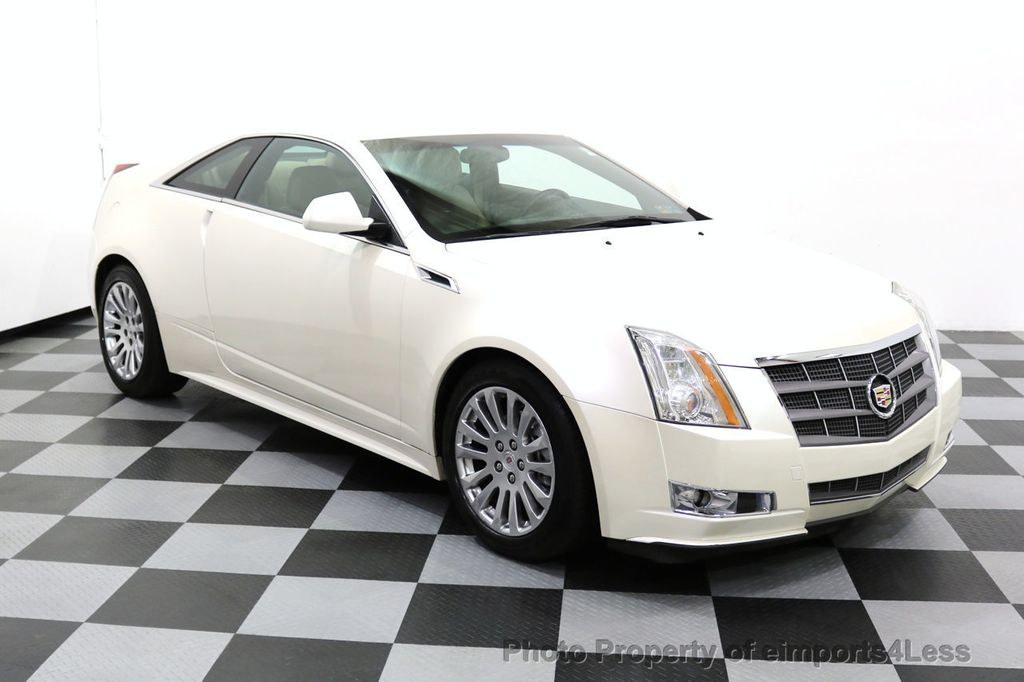2011 Cadillac CTS Coupe 2dr Coupe Performance AWD - 17736550 - 22