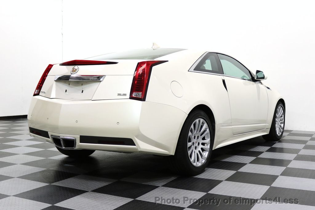 2011 Cadillac CTS Coupe 2dr Coupe Performance AWD - 17736550 - 23
