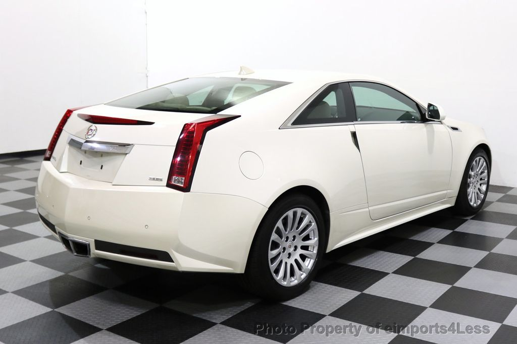 2011 Cadillac CTS Coupe 2dr Coupe Performance AWD - 17736550 - 2
