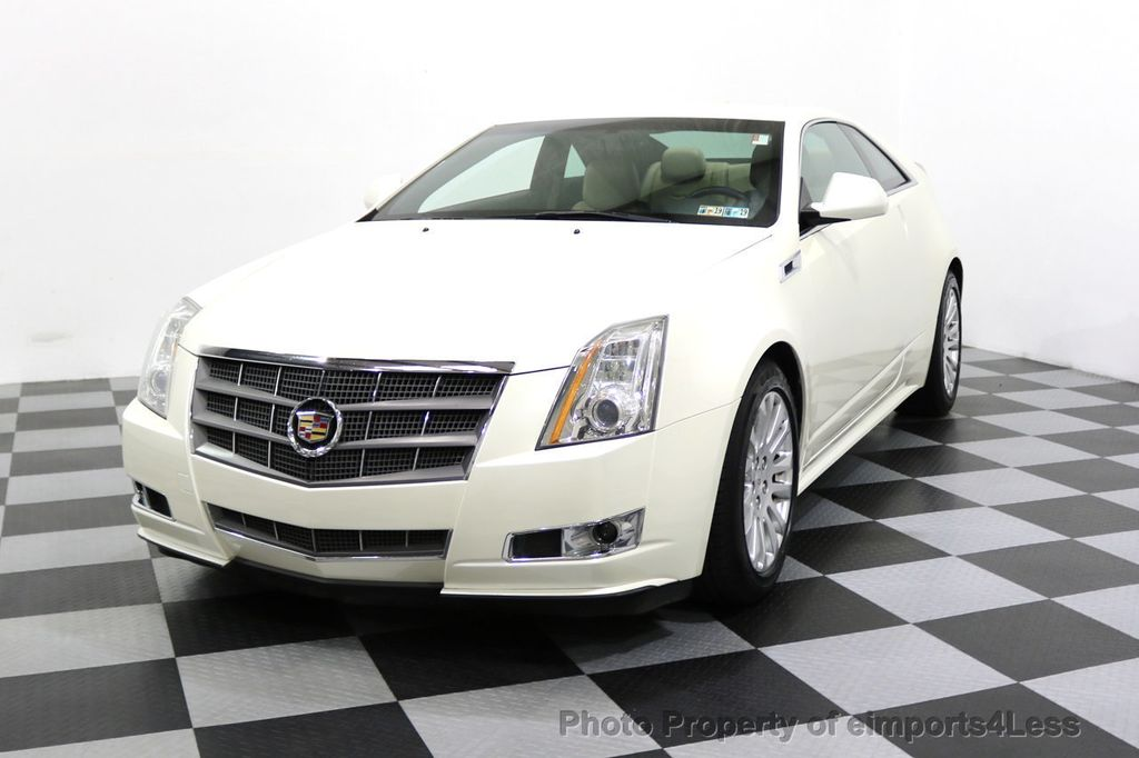 2011 Cadillac CTS Coupe 2dr Coupe Performance AWD - 17736550 - 31