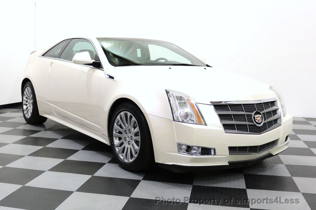 2011 Cadillac CTS Coupe 2dr Coupe Performance AWD - 17736550 - 32