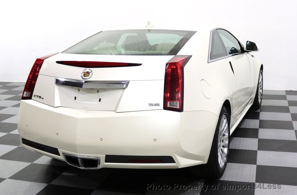 2011 Cadillac CTS Coupe 2dr Coupe Performance AWD - 17736550 - 33