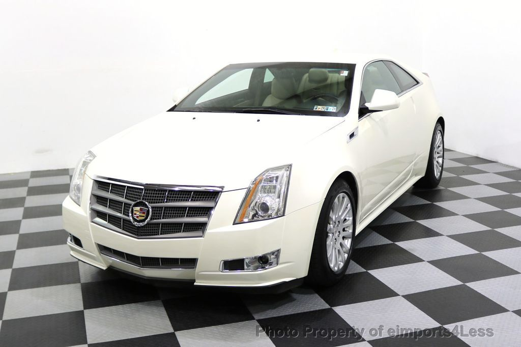 2011 Cadillac CTS Coupe 2dr Coupe Performance AWD - 17736550 - 36