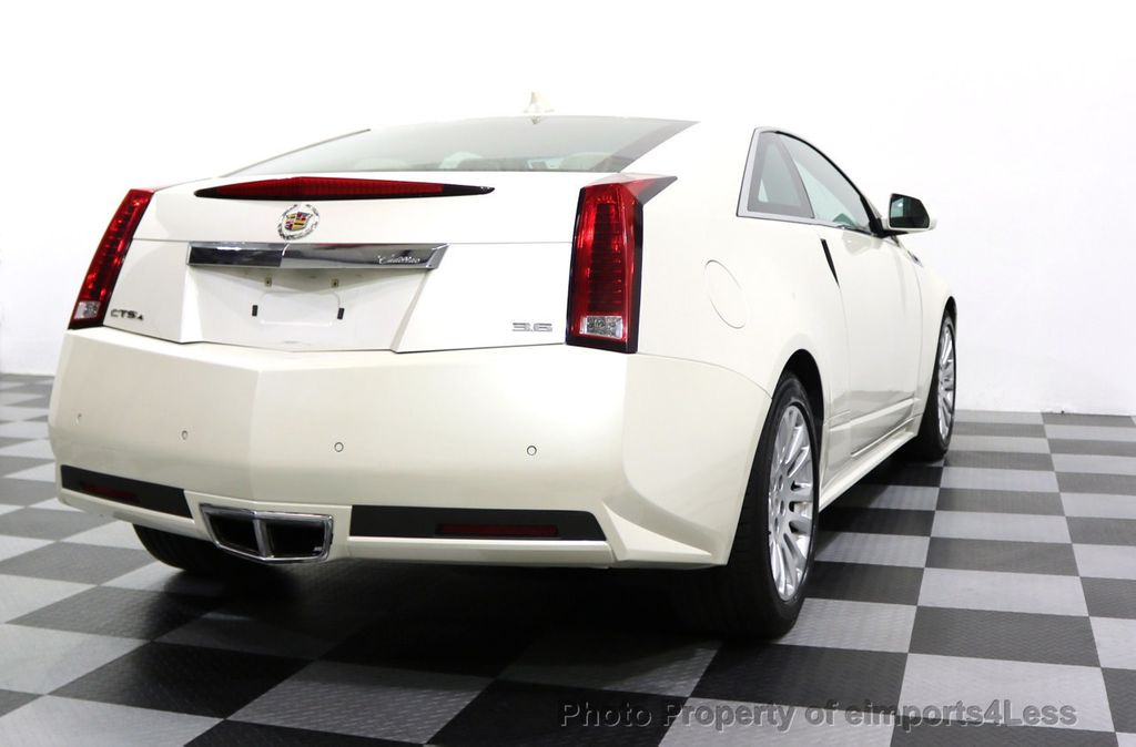 2011 Cadillac CTS Coupe 2dr Coupe Performance AWD - 17736550 - 37