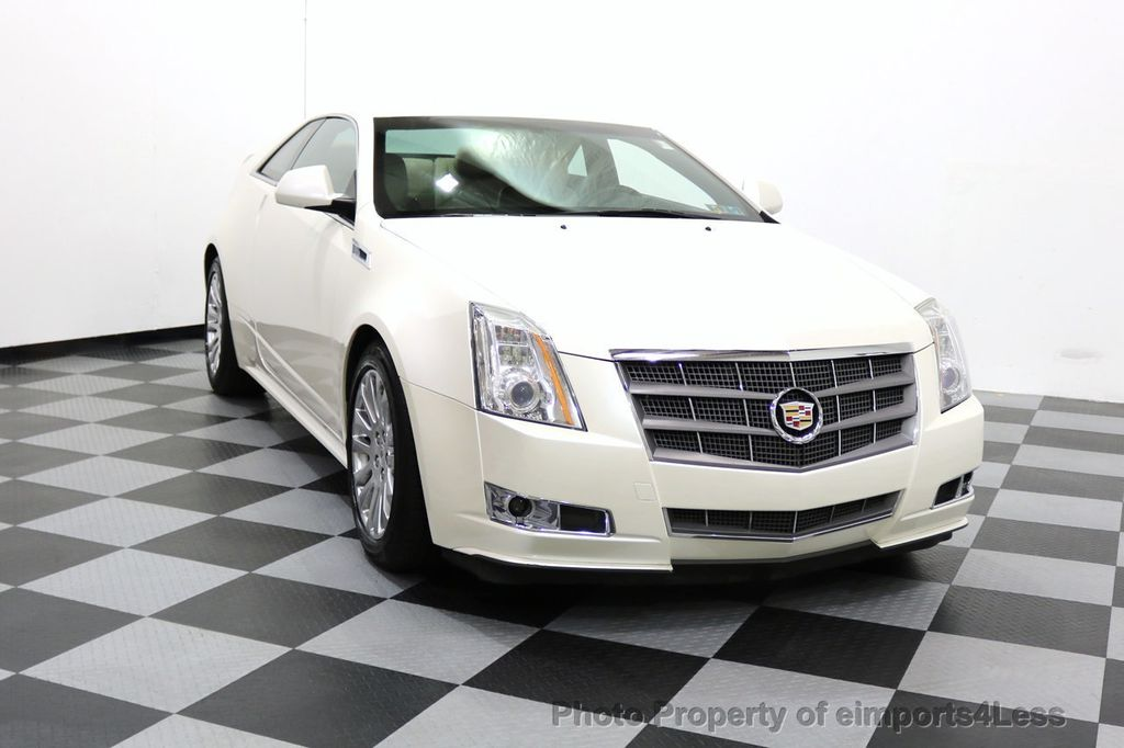 2011 Cadillac CTS Coupe 2dr Coupe Performance AWD - 17736550 - 38