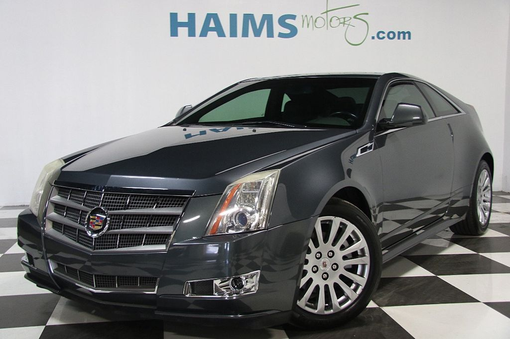 2011 Used Cadillac Cts Coupe 2dr Coupe Performance Rwd At