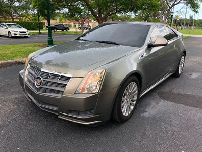 2011 Cadillac CTS Coupe 2dr Coupe RWD