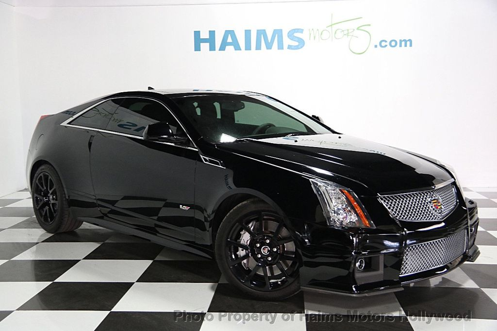 2011 used cadillac cts v coupe 2dr coupe at haims motors serving fort lauderdale hollywood. Black Bedroom Furniture Sets. Home Design Ideas