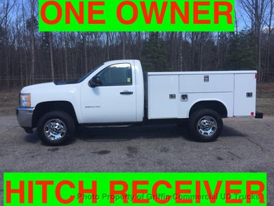 2011 Chevrolet 2500HD UTILITY SERVICE BODY JUST 43k MILES ONE OWNER VA TRUCK!!! HITCH RECEIVER