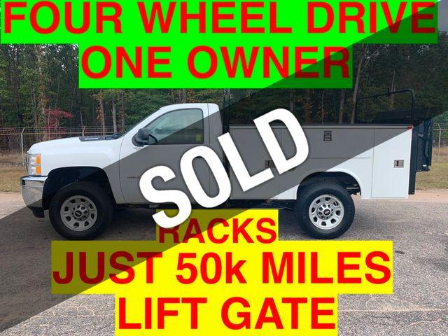 2011 Chevrolet 3500HD 4X4 SRW UTILITY SERVICE BODY JUST 50k MILES LIFT GATE ONE OWNER VA TRUCK
