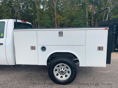 2011 Chevrolet 3500HD 4X4 SRW UTILITY SERVICE BODY JUST 50k MILES LIFT GATE ONE OWNER VA TRUCK - Click to see full-size photo viewer