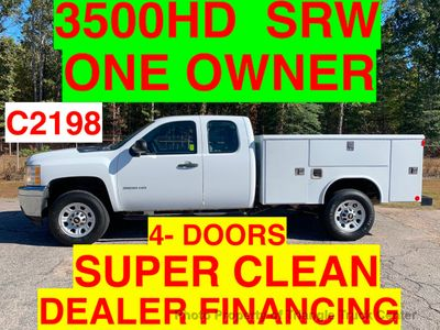 2011 Chevrolet 3500HD SRW 4 DOOR SC UTILITY SERVICE BODY JUST 41k ONE OWNER VA TRUCK!!! SUPER CLEAN!!