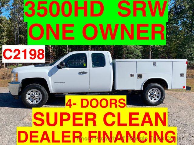 2011 Chevrolet 3500HD SRW 4 DOOR SC UTILITY SERVICE BODY JUST 41k ONE OWNER VA TRUCK!!! SUPER CLEAN!!
