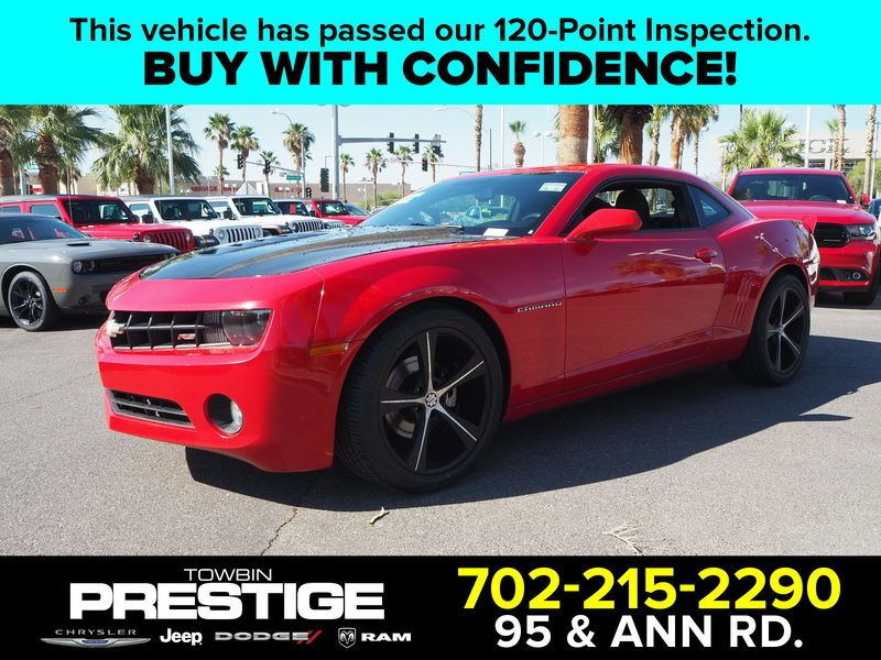 2011 Chevrolet Camaro 2dr Coupe 1LT - 17783236 - 0
