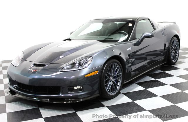 2011 Chevrolet Corvette CERTIFIED ZR1 3ZR COUPE - 16224372 - 0