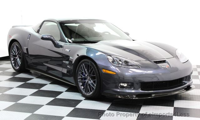 2011 Chevrolet Corvette CERTIFIED ZR1 3ZR COUPE - 16224372 - 17