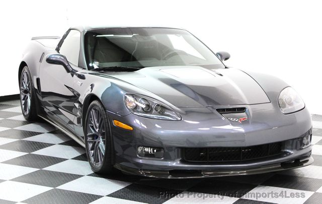 2011 Chevrolet Corvette CERTIFIED ZR1 3ZR COUPE - 16224372 - 1