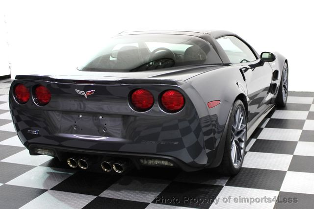 2011 Chevrolet Corvette CERTIFIED ZR1 3ZR COUPE - 16224372 - 22