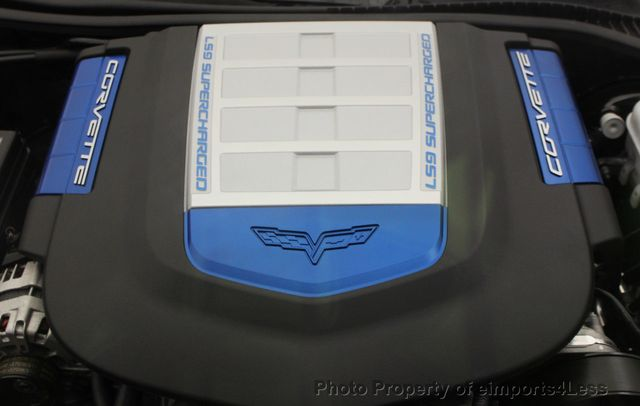 2011 Chevrolet Corvette CERTIFIED ZR1 3ZR COUPE - 16224372 - 34