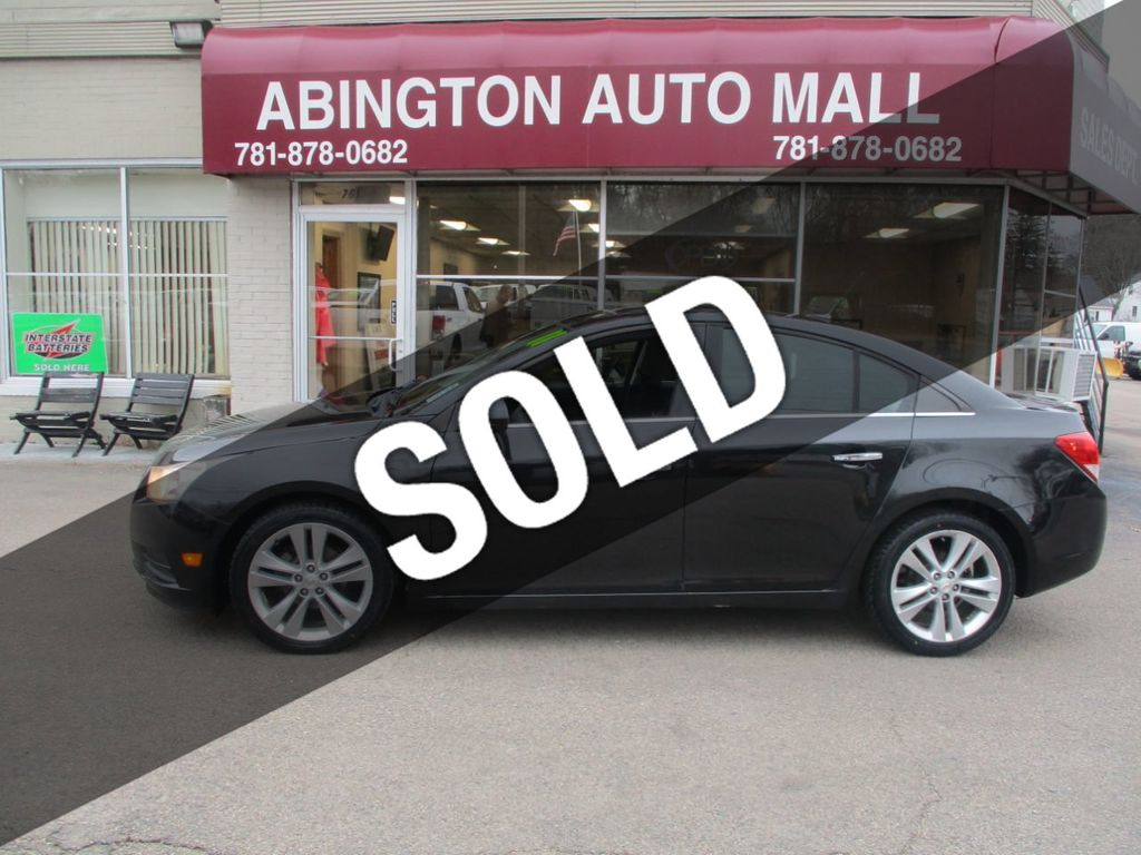 Used Chevrolet Cruze Abington Ma