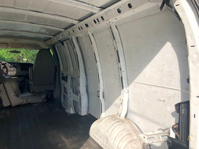 "2011 Chevrolet Express Cargo Van RWD 2500 155"" - Click to see full-size photo viewer"