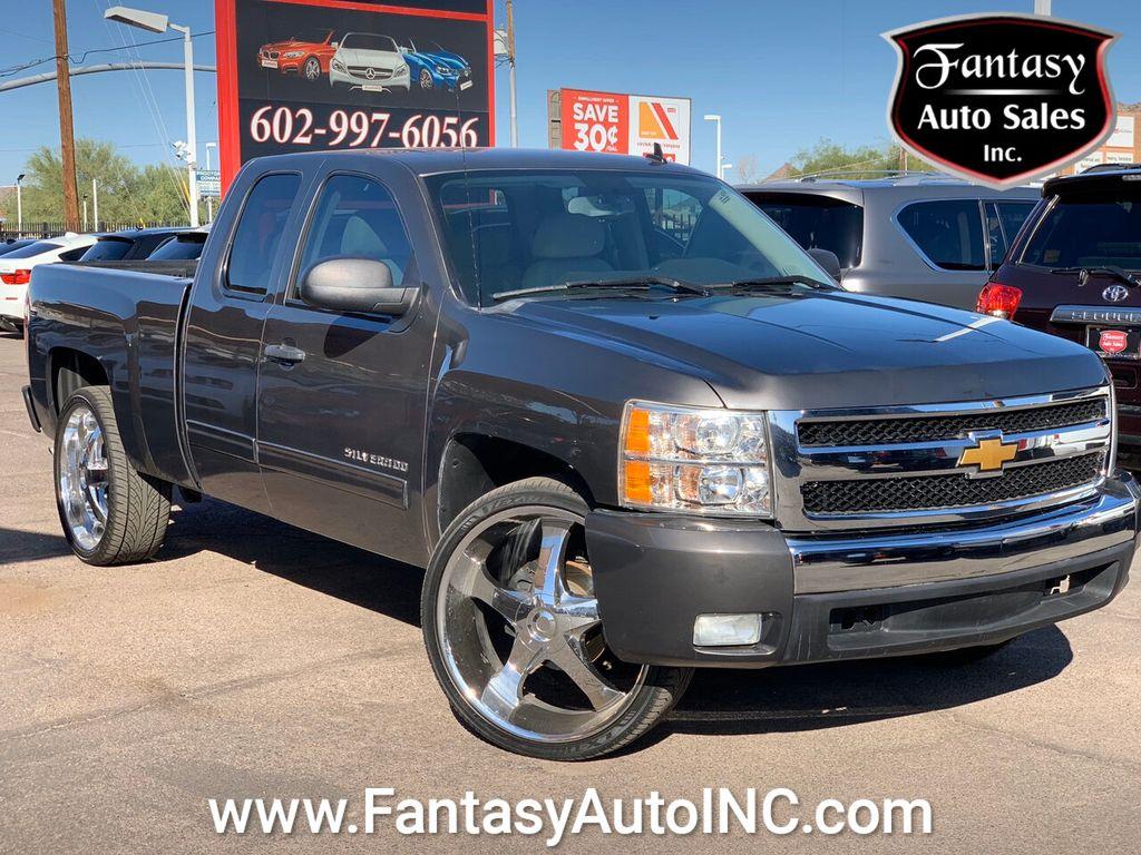 2011 Chevrolet Silverado 1500 Extended Cab >> 2011 Used Chevrolet Silverado 1500 2wd Ext Cab 143 5 Lt At Fantasy Auto Sales Inc Serving Phoenix Az Iid 19500491