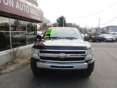 "2011 Chevrolet Silverado 1500 4WD Crew Cab 143.5"" LT - Click to see full-size photo viewer"
