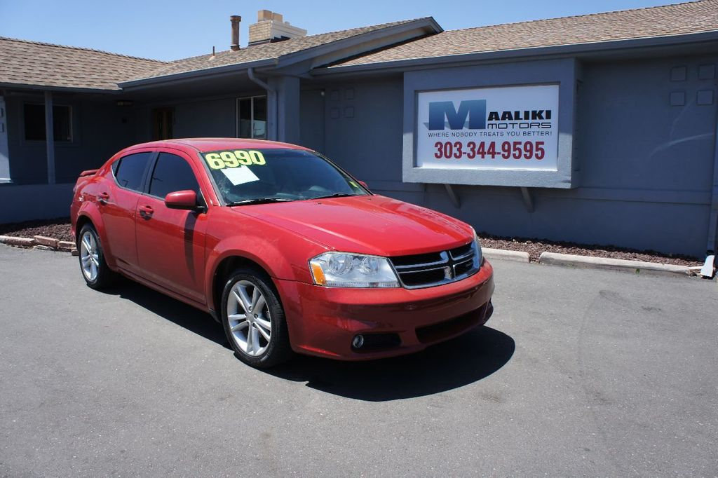 2011 Dodge Avenger 4dr Sedan Mainstreet - 17748073