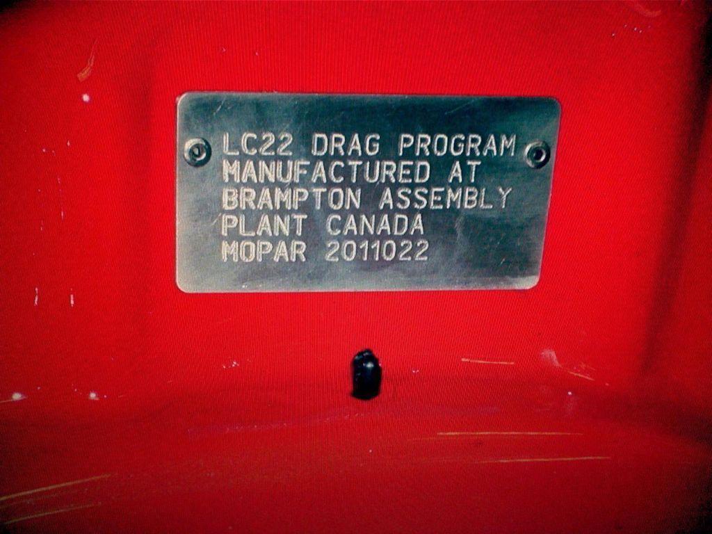 2011 Dodge Challenger Mopar 10 Drag Pak - 12184220 - 32