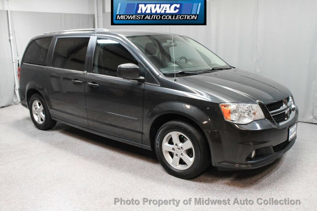 2011 Dodge Grand Caravan CREW NAV BACK UP DVD  - 17858047 - 6