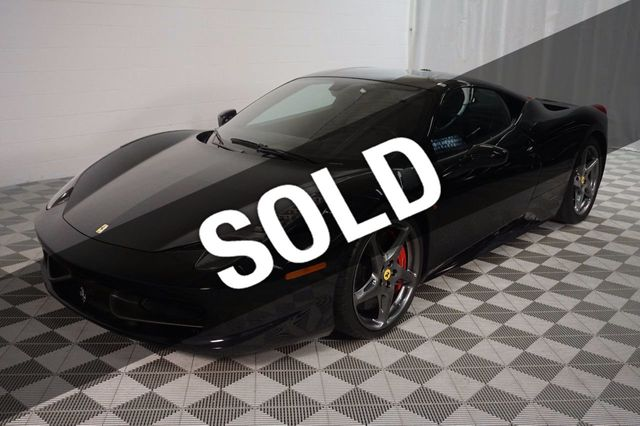 2011 Used Ferrari 458 Italia 2dr Coupe At Kip Sheward