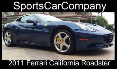 2011 Ferrari California Roadster  Convertible