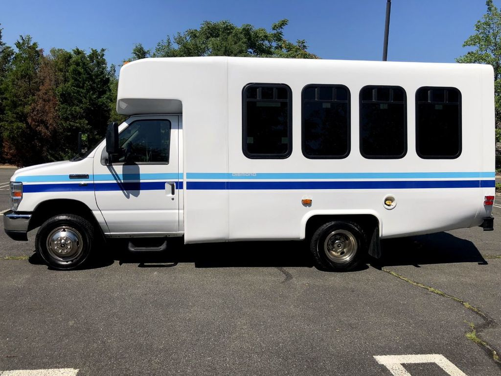2011 Ford E350 Diamond Non-CDL Wheelchair Shuttle Bus For Adults Medical Transport Mobility ADA Handicapped - 17951685 - 3
