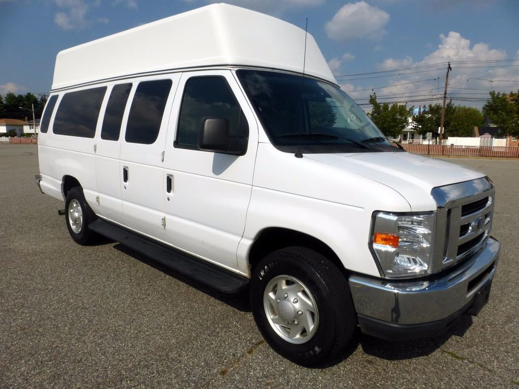 2011 ford e350 ext wheelchair high top ambulette van for adult medical transport mobility ada